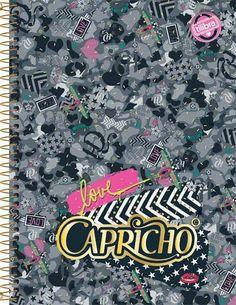 9155ffe209 Caderno universitário espiral Capricho Tilibra 96 folhas