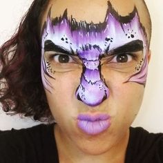 Enjoy your weekend . Dragon Face, Carnival, Halloween Face Makeup, Nyc, Painting, Carnavals, Painting Art, Paintings, Painted Canvas