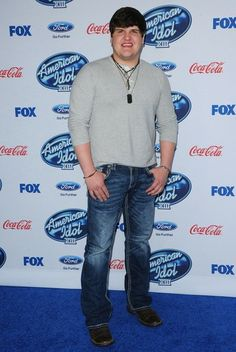 Dexter Roberts at the 'American Idol' XIII Finalists Party at the Fig & Olive in West Hollywood. February 2014