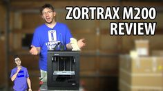 I found some room to film, and I was finally able to put together a review video for the Zortrax m200 3d printer. The machine performed extremely well, but, ...