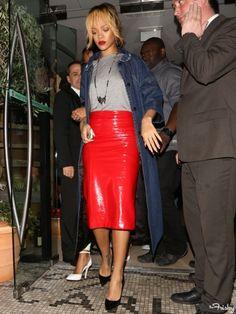 Rihanna Street Style