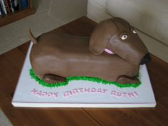 Weiner+dog+cakes