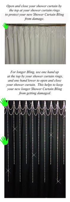 Zenna Home 96SS Double Roller Shower Curtain Hooks Chrome