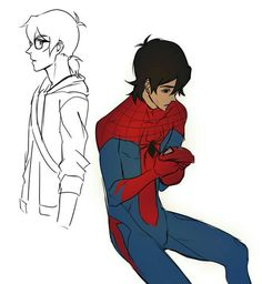 spiderman au i'm LIVING 1/5
