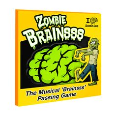 Want to play the Zombie 'Brainsss' Hot Potato Game?