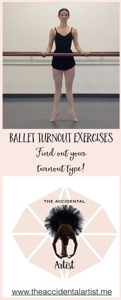More ballet turnout exercises and discover your true ability! Click on image for full post. #ballet #turnout #dance