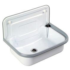 Utility sink white enameled | GENERAL VIEW