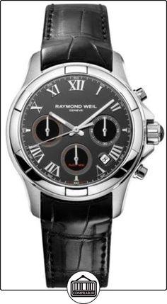 1ce252f8d1ac Raymond Weil Parsifal Automatic Watch - Black Silver Dial w  Black  Alligator Strap -