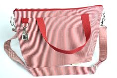 Camera and Tote bag, by Darby Mack
