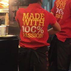 Love their shirts!!  #lotteriavietnam #vietnam #western #burger #passion