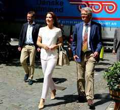 Crown Princess Mary, patron, attended the organization Children, Youth & Grief, May 27, 2014