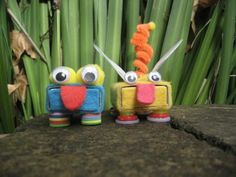 "coloured buttons: Matchbox Monday: ""There are more strange bugs in the garden mum"""