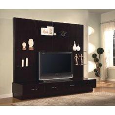 ... TV-Stand-Design-Ideas-Contemporary-Design-Walnut-Finish-Media-Storage