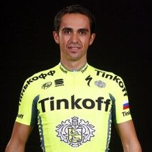Tinkoff Pro Team: Alberto Contador - 31 Photo: http://www.tinkoffteam.com/