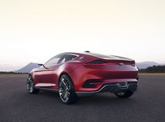 Ford should make this car!  Yes, the new Fusion takes cues . . . but, I want THIS car.