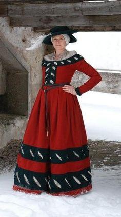 deviantART: More Like Herjolfsnas Greenland 1300 dress by ~LenaTorp