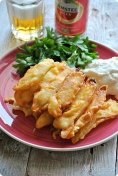 batter for fried zucchini Greek Cooking, Cooking Time, Cooking Recipes, Healthy Recipes, Appetisers, Mediterranean Recipes, Greek Recipes, Different Recipes, Food Hacks