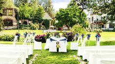 3150 € (bis 120 Personen) für Miete (Park & Festsaal) inkl. Trauung im Garten, Fotograf und besteck/geschirr, reinigung, kerzenleuchter)