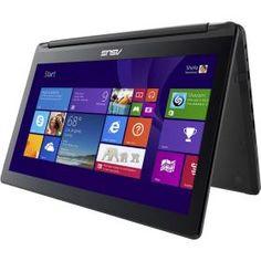 "Asus- Open Box - Flip 2-in-1 15.6"" Touch-Screen Laptop - Intel Core i7 - 8GB Memory - 1TB Hard Drive - Black $779"