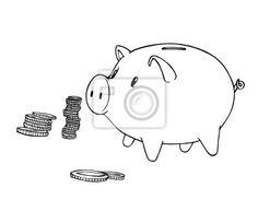 Prasiatko sporenie, úrokové sadzby, úrokové sadzby, banky, peniaze