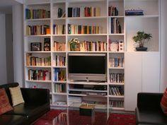 librería a medida para salón