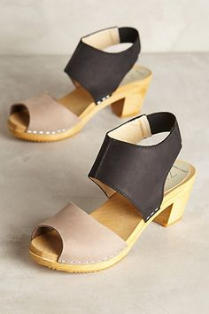 Nina Z Oath Clogs #anthropologie