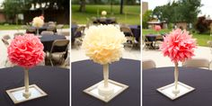 Made on Main: Craft Confessions | Super Cheap Wedding Centerpieces