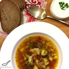 Schi (Щи) - Russian Cabbage Beef Soup Recipe - A Classic Russian Soup, like a Borscht, Enjoyed for over 1000 years.