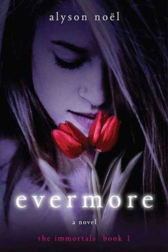"""Evermore by Alyson Noel. One of Alex's favorite paranormal YA books, involving psychics. It's the first in the """"Immortals"""" series. Pick up a copy from either library!"""