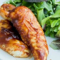 Baked BBQ Chicken Tenders