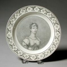 Plate CREIL FACTORY (FRENCH, 1795–1895) C. 1810