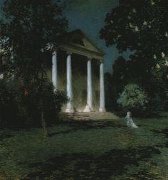 Willard Metcalf May Night - May Night (Willard Metcalf painting) - Wikipedia, the free encyclopedia