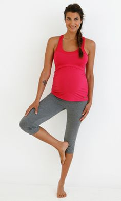 15cd588268cf4 Stay fit and get your glow on in this super comfy racer back nursing sports  tank