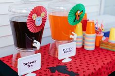 Mickey Mouse Birthday Party Ideas | Photo 4 of 78 | Catch My Party