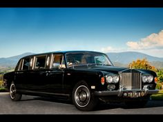 Extended Rolls Royce Silver Shadow