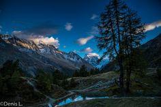 le-lac-bleu_2 Wallis, Photos, Mountains, Nature, Travel, Cabin, Blue, Pictures, Naturaleza