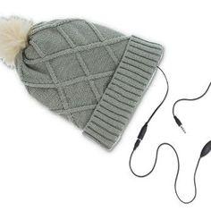 Hogy a legnagyobb hidegben se maradj le kedvenc zenéidről :)  http://www.skyphone.hu/teli-sapka-headsettel-szurke-35mm-jack-csatlakozos