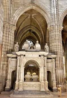 Basilique Saint-Denis.Ile-de-France