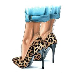 Ideas for fashion sketches ideas Black Girl Art, Black Women Art, Art Girl, Fashion Illustration Shoes, Illustration Mode, Illustrations, Shoe Sketches, Fashion Sketches, Zapatos Animal Print