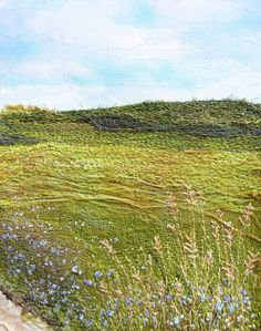 My Sweet Prairie: embroidered landscape