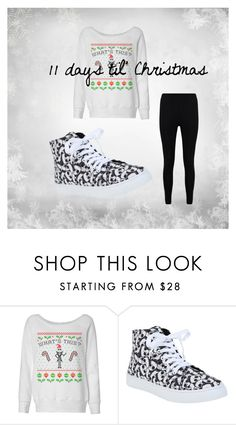 """""""11 days til' Christmas"""" by godsnotdead218 on Polyvore featuring Boohoo"""
