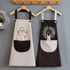 Cute summer kitchen apron waist apron gadgets for women dropshipping kitchen red pink apron for women kitchen cooking Cheap Aprons, Aprons For Men, Waist Apron, Apron Dress, Pink Apron, Retro Apron, Towel Apron, Custom Aprons, Bbq Apron
