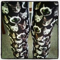 Cat leggings only on etsy