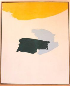 Distant by Friedel Dzubas, 1963. I would love to have the restraint to paint this.