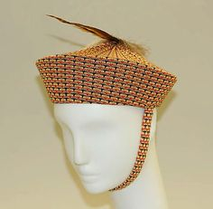 1930s, America - Cotton hat by Imperial Knitting Co., Inc
