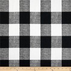 Premier Prints Anderson Check Black/White