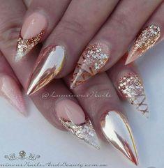 # Rose Gold Nails
