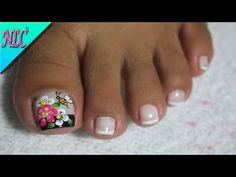 Fails art paso a paso mariposa 23 best ideas Cute Toe Nails, Sassy Nails, Pink Nail Art, Toe Nail Art, Ladybug Nail Art, Bee Nails, Cute Pedicures, Summer Toe Nails, Spring Nails