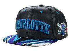 0cbe9c29bb4 Charlotte Hornets Mitchell   Ness Insider Reflective Snapback Adjustable Hat  - Gray