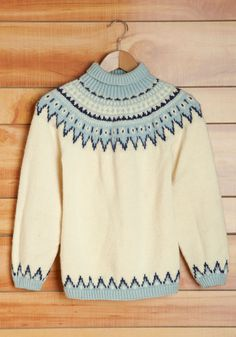 Vintage Sled and Done Sweater.   #modcloth
